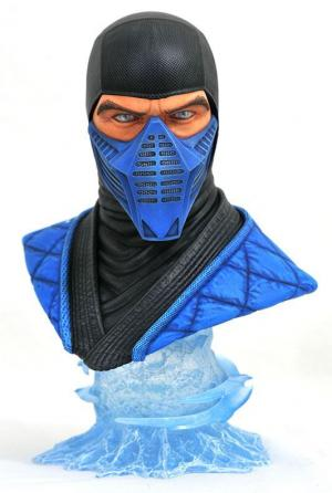 Sub-Zero resin bust front