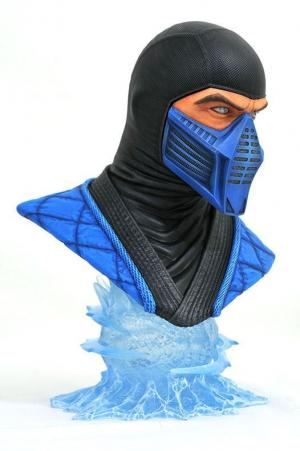 Sub-Zero resin bust side