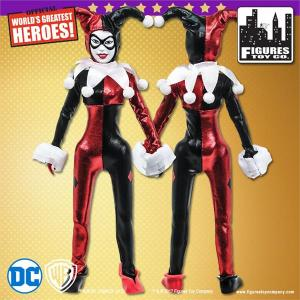 Gold Card Harley Quinn Action Figure Front/Back