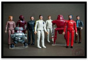Assroted Mego Black Hole Figures