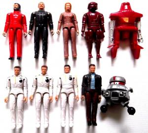 Complete Collection of Mego Black Hole Figures