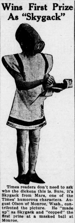 Mr. Skygack Cosplay from 1912