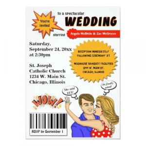 Pure Comic Style Invitation